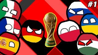 WORLD CUP 2018 MARBLE RACE COUNTRYBALLS EVENT #1
