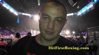 Adam Kownacki After His TKO Victory 8/2