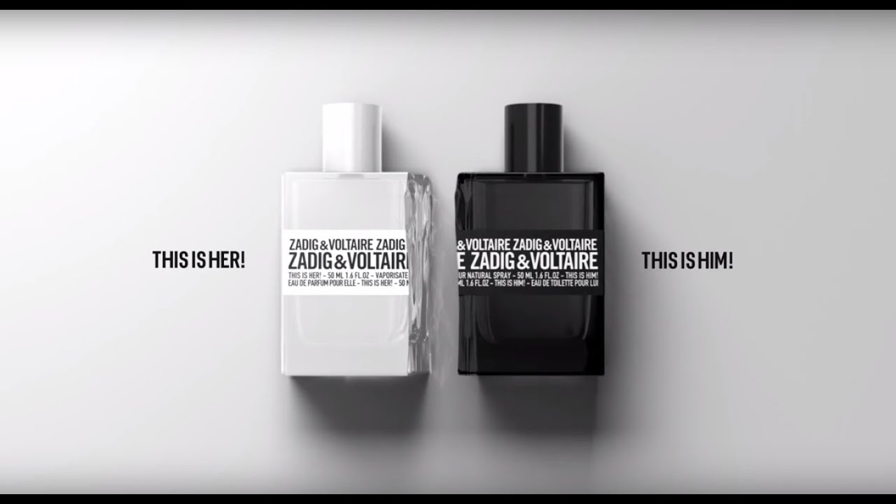 zadig voltaire parfum this is her this is him youtube