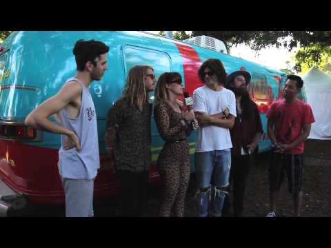 Grouplove Interview at Austin City Limits 2013 w/B-Sides On-Air
