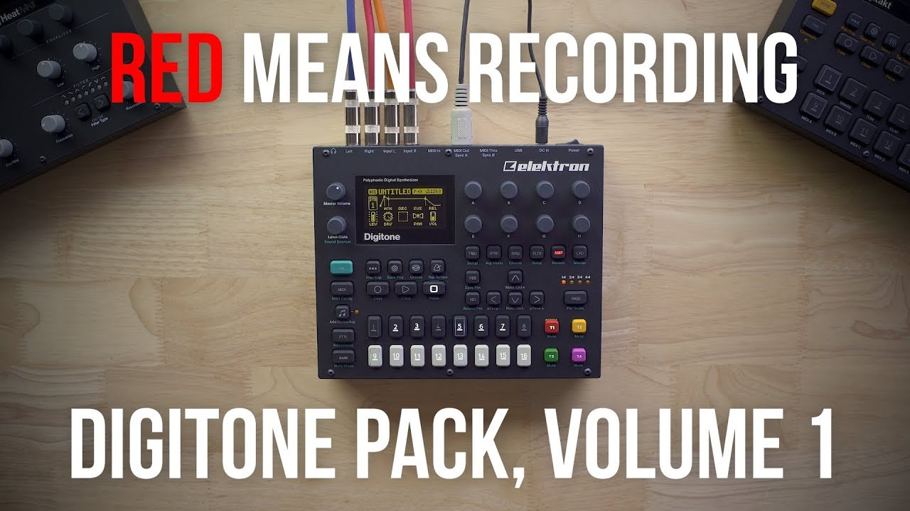 RMR Digitone Presets, Volume 1 (Sounds and Installation