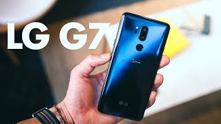 LG G7 ThinQ - HANDS ON WITH THE NOTCH!
