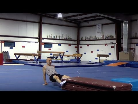 GYMNASTICS/GENERAL FITNESS CONDITIONING - Panel Mat Pulling and Pushing Exercises