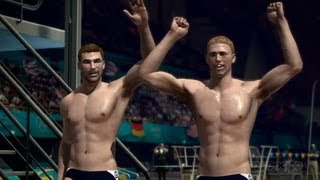 Synchronised Diving  - London 2012 Olympics Gameplay (Xbox 360)