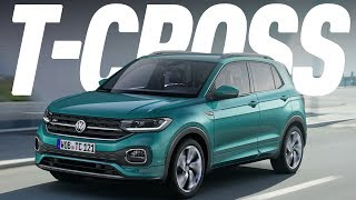 Новый Volkswagen T-Cross 2019