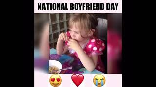 Try Not To Laugh  Kids Wants A Boyfriend Competition