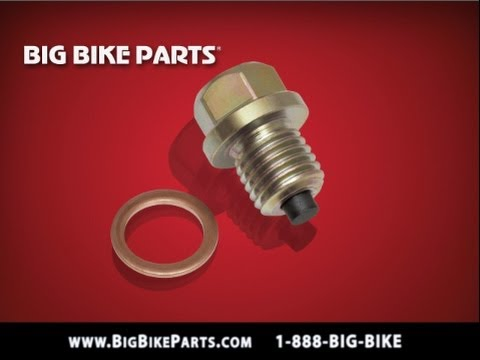Big Bike Parts 5-303 M14-1.5 Magnetic Drain Plug for Can-Am Spyders,