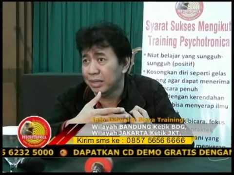 Penjelasan Singkat Konsep Dasar Pelatihan Psychotronica