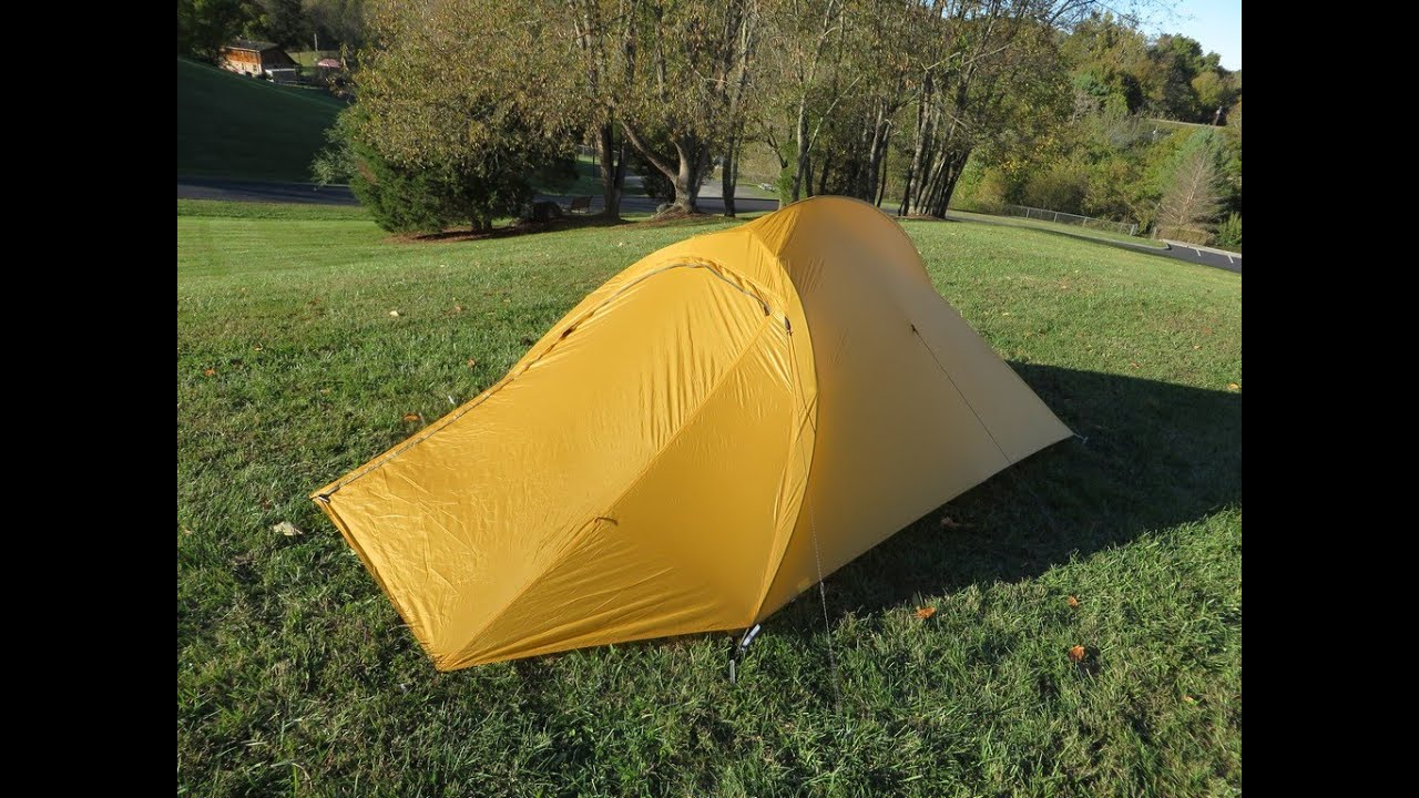 & Big Agnes Slater ul2 + tent overview - YouTube