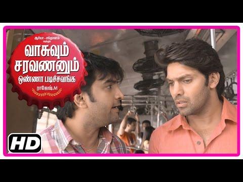 VSOP Tamil Movie | Scenes | Arya says he doesn't love Tamanna | Santhanam | Vidyullekha
