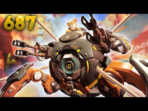 This Ball Is Tied Up!! | Overwatch Daily Moments Ep.687 (Funny and Random Moments) thumbnail