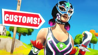 SOLO CUSTOMS 5EURO PER WIN // FORTNITE NEDERLANDS!!!!