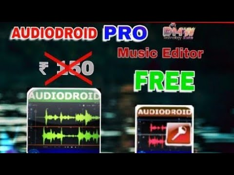 Audiodroid PRO(crack)🆓 Download|Best music editor app for android