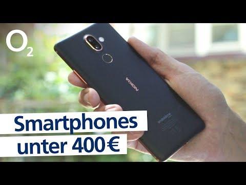 Die besten Smartphones unter 400 € - Top Oberklasse-Handys im Test