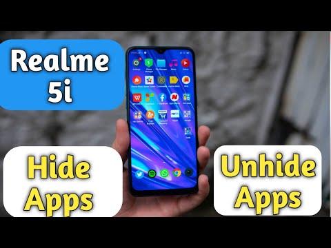 How to Hide & Unhide Apps in Realme 5i, Realme 5i Hide Apps