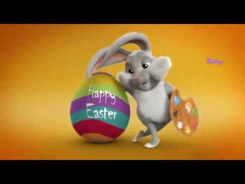 Happy Easter ❤Easter Bunny Song For Children - YouTube
