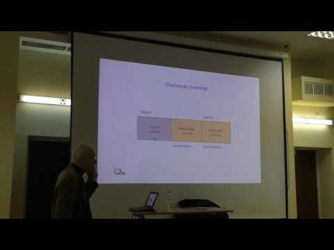 Aspects of Cognitive Sociolinguistics (by prof. Dirk Geeraerts) — part I
