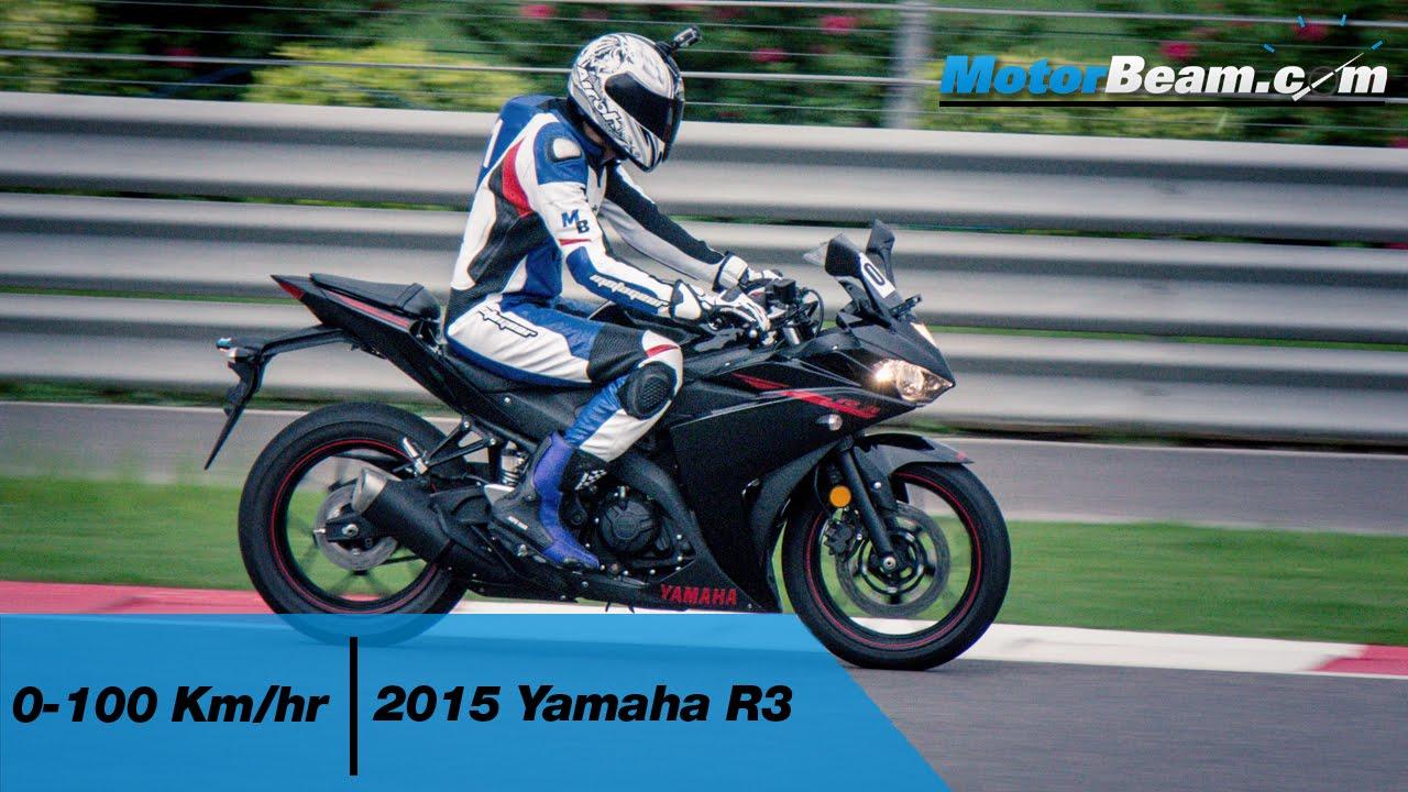 Yamaha R3 0-100 km/hr & Acceleration Test | MotorBeam