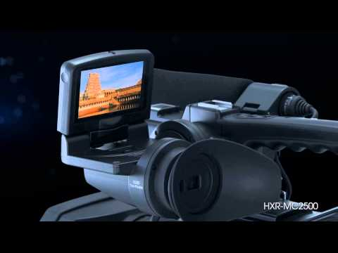 SONY HXR-MC2500 1/4-inch Exmor HD / SD AVCHD camcorder FUNCTION VIDEO