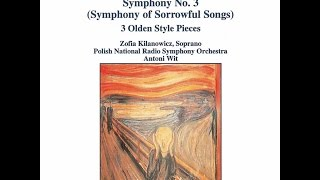 Henryk Górecki - Symphony No. 3, Op. 36: 1. Lento, Sostenuto tranquillo ma cantabile