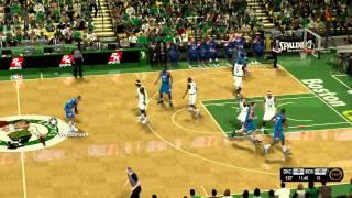NBA 2K12 TNT Scoreboard