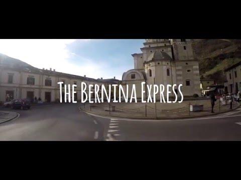 Milan to St. Moritz via the Bernina Express: GO PRO ADVENTURE HD