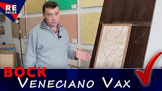 Испытание воска от WOW Color. Veneciano Vax.