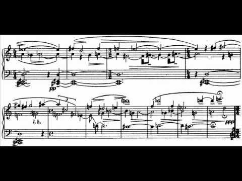 Hamelin plays Copland - Piano Variations Audio + Sheet music