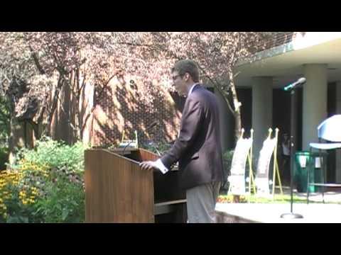 David Ober speaks on Student Convocation