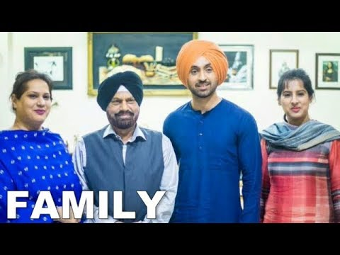 Diljit Dosanjh Family Photos - Father, Mother, Brother & Spouse