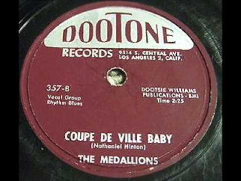MEDALLIONS  Coupe de Ville Baby  1955