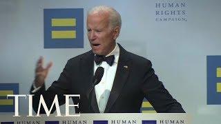 Trump Draws Fire From Joe Biden At Annual LGBT Dinner | TIME