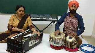 Old bhajan...Aisa pyar baha do  maiya charno se lag jaau Mai .. originally sung by Hari Om Sharan...