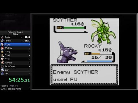 Pokemon Crystal - Rocky Speedrun in 4:29:47 [Glitchless]