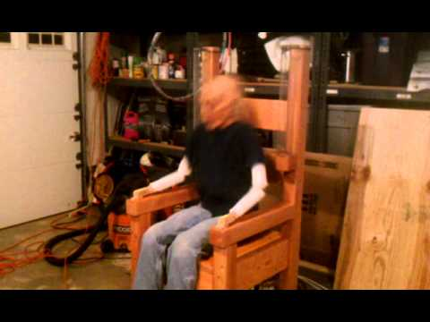 Electric Chair Execution Gone Wrong Baby Trend High Replacement Parts - Halloween Prop | Doovi