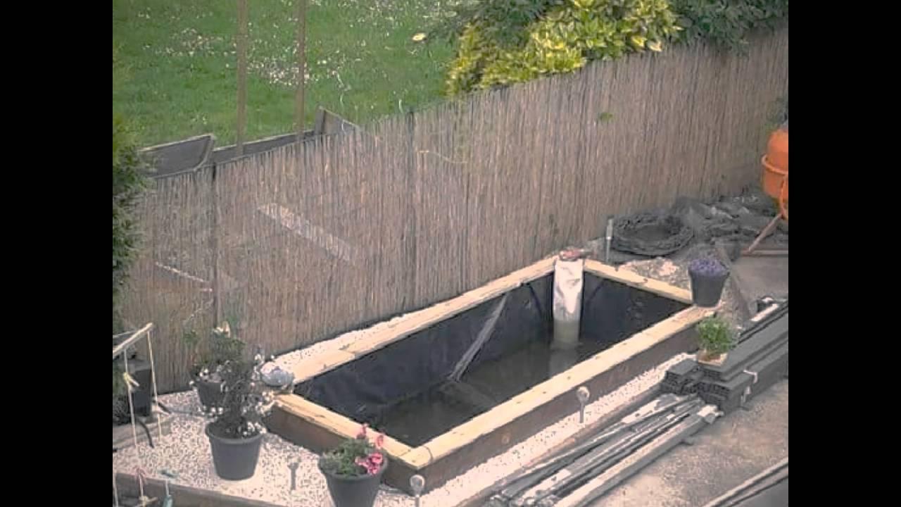 bassin de jardin tuto