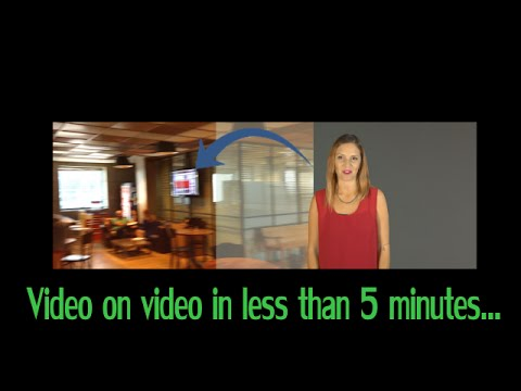 Add a video overlay to a video in 5 minutes - automatically and online