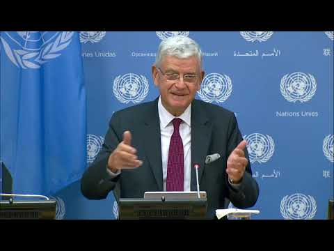 Incoming UN General Assembly President, Volkan Bozkır First Press Conference