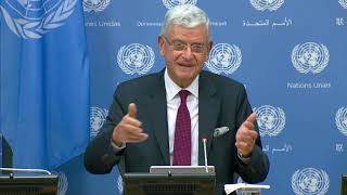 Incoming UN General Assembly President, Volkan Bozkr First Press Conference First press conference by #UNGA75 #UNGA President Volkan Bozkr of Turkey following the opening of the historic 75th session of the United Nations General ..., From YouTubeVideos