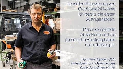 CreditGate24: KMU-Erfolgsgeschichte DynaRoads (subtitle: EN, FR)