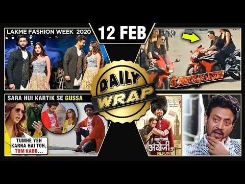 Sara ANGRY On Kartik, Akshay Katrina BIKE RIDE, Janhvi Vicky Lakme Fashion Week 2020 | Top 10 News