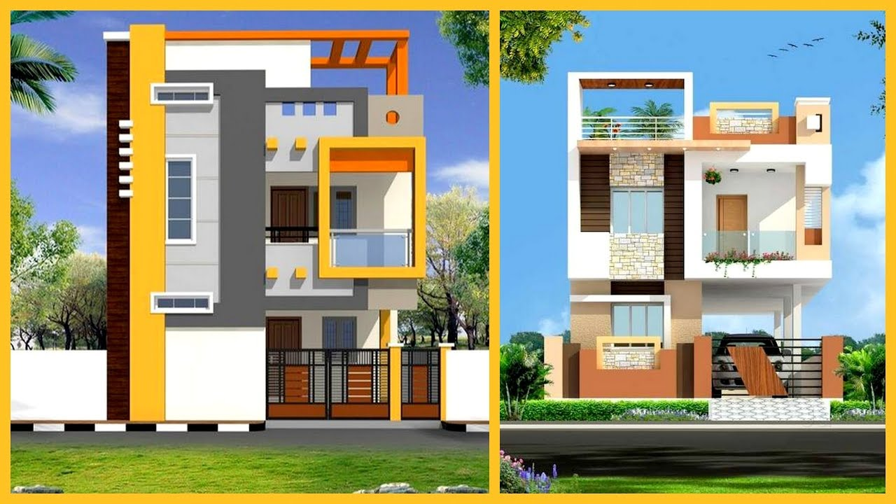 Two Floor House | Two Floor House Elevation Design | Two ...