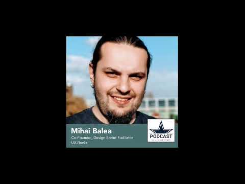 DDS Podcast #39 - Mihai Balea, Co-Founder & UX Rocker at UX.Rocks