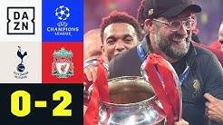 Jürgen Klopp krönt sich mit den Reds zum King: Tottenham - Liverpool 0:2 | Champions League | DAZN
