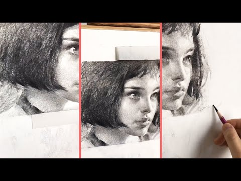 Léon: The Professional – Natalie Portman Drawing Sketch | Beautiful Sketches of MOVIE CHARACTERS