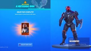How I got the FREE METEORIC RISE SKIN In Fortnite Battle Royale!