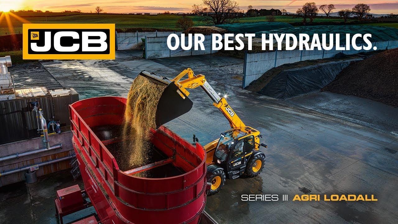 Our Best Hydraulics - JCB Series 3 AGRI Loadall Telehandler - YouTube