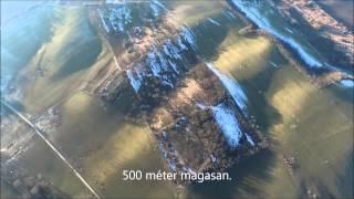 DJI Inspire 1 flight in maximum altitude