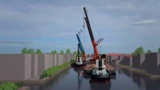 Hijsongeval Alphen aan den Rijn