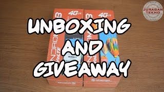 Unboxing & Giveaway Smartfren Andromax B Indonesia (Juragan Tekno)